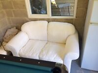 Sofa chairs and footstall