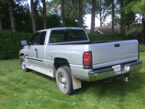 2002 2500 Dodge Ram Diesel with Extended Cab