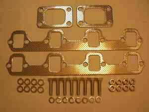 Ford 302-351w Twin Turbo Exhaust Manifolds Polished Stainless Stratford Kitchener Area image 2