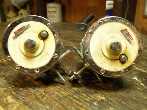 2 Older Garcia Mitchell deep sea fishing reels