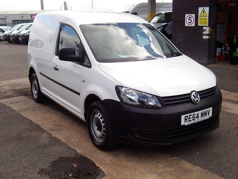 Volkswagen Caddy 1.6 TDI 75PS VAN DIESEL MANUAL WHITE (2014)
