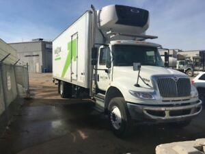 2018 International 4300 SBA 4X2, Used Reefer Van