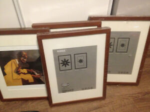 4 IKEA RIBBA picture frames