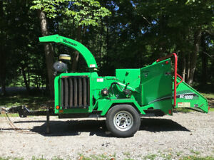 Vermeer Bc 1000xl wood/brush chipper