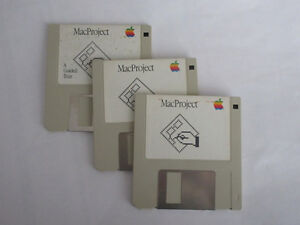 Apple MacProject Install Disks