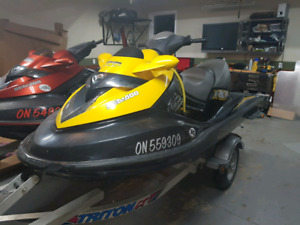 2007 Seadoo RXT single trailer rebuilt supercharger only 100 hrs