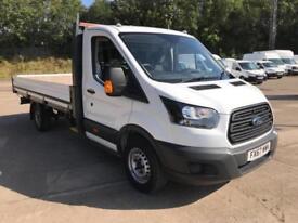 Ford Transit 350 L4 DROPSIDE 130PS EURO 6 DIESEL MANUAL WHITE (2017)