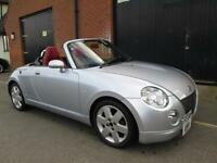 DAIHATSU COPEN 600cc ROADSTER CONVERTIBLE RED LEATHER LOW MILES