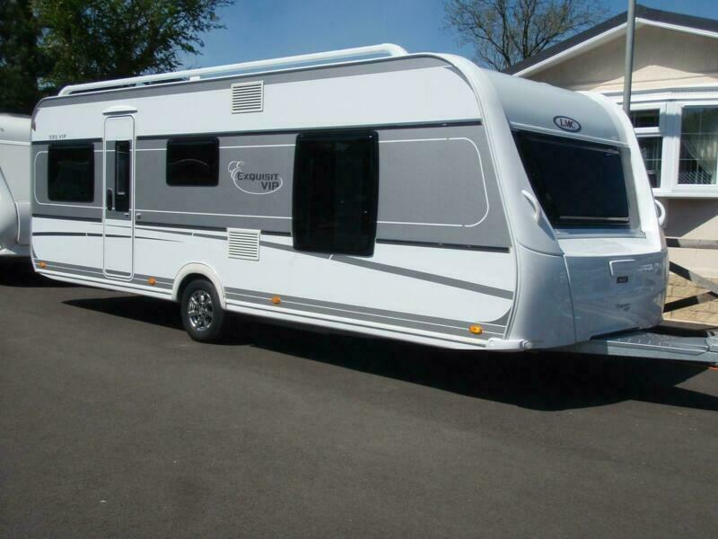 2016 LMC 595 VIP EXQUISIT,4 BERTH FIXED ISLAND BED   in Coalville,  Leicestershire   Gumtree