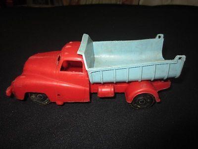 ANTIK - Altes Spielzeug Auto Sattelschlepper LKW Kipper Kunststoff - um 1960 Auto Schlepper Spielzeug
