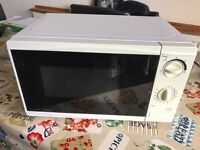 Microwave oven FREE to collector must go today