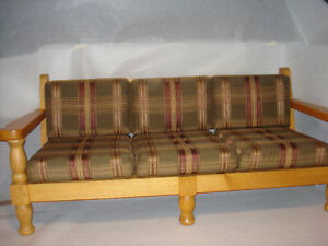 Sofa et fauteuils en pin