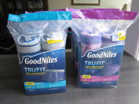"""Goodnights"" Starter Packs, Boys & Girls, L-XL 60 - 100 lbs, BN"