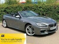 BMW 6 Series 3.0 640d M Sport 2dr Convertible Auto Grey + LOW MILES + 2012