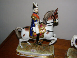 Antique Scheibe Alsbach Pair German Napoleonic Soldier Figurines London Ontario image 2