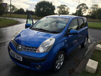 NISSAN NOTE 1.6 SVE MPV 63000 MILES FSH 4 NEW TYRES FULL MOT JUST SERVICED
