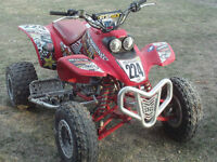 4 roue honda 400cc machine fiable