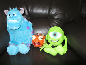 Sulley, Mike, Archie