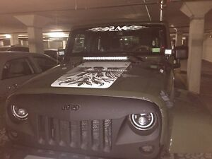 Jeep Wrangler Halo Headlights and Fog lights  London Ontario image 4