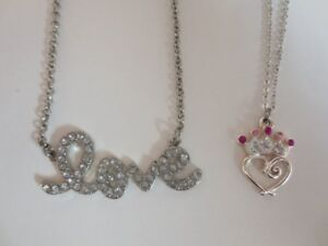 NEW - Princess Or LOVE necklaces