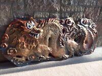 Oriental eastern Asian dragon large wall hanging light £40 Ono