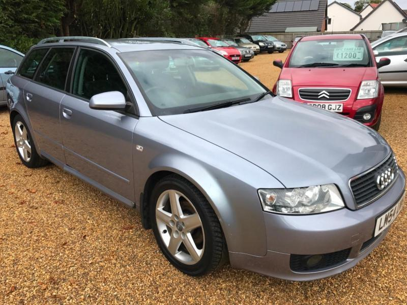 2005 Audi A4 Avant 2.0 Sport New MOT10/18 -7 service stamps and very good invoc