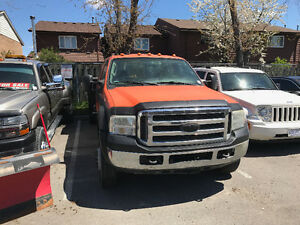 2006 Ford F-550 CREW CAB FLATBED Pickup Truck