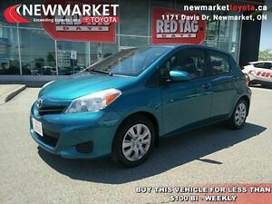 2012 Toyota Yaris LE  - Certified - Bluetooth -  USB -  Power Lo