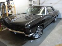 1965 Buick Riviera Clam shell H/Lamps Trade for harley touring