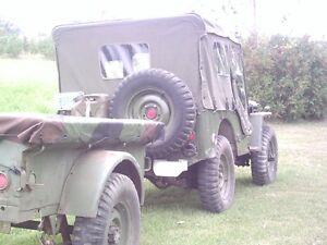 1952 military jeep M38CDN + 1953 M100CDN trailer Peterborough Peterborough Area image 10