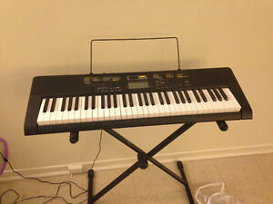 Casio Inc. CTK2400 61-Key Personal Keyboard with stand