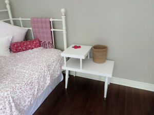 Mid Century Modern bed side table, telephone table
