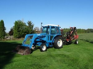 Tractor and 20 foot Allied Grass Cutter Kawartha Lakes Peterborough Area image 4