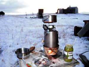 Ghillie Camping Kettles for Fishing, Hunting, Hiking, Outdoors