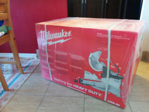 Milwaukee 12 in. Dual-Bevel Sliding Compound Miter Saw .Chop Saw