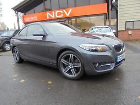 2014 BMW 2 SERIES 220d Sport 2dr