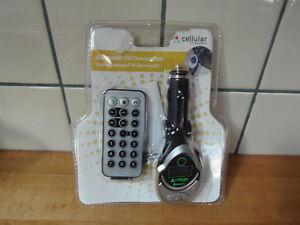 Cellular Bluetooth FM Transmitter
