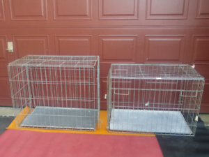 PETS DOGS CRATE CAGES foldable perfect condition