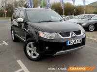 2008 MITSUBISHI OUTLANDER 2.0 DI D Warrior SUV 7 Seats