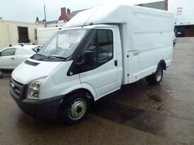 Ford Transit 2.4TDCi Duratorq 2007 350 MWB ex bt luton ideal tipper