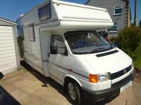Vw Autohomes Merlin 4 Berth Over Cab Bed Motorhome For Sale Ref 13639