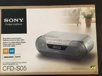 BNIB Sony CD Radio Cassette Recorder