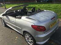 2005 PEUGEOT 206CC 1.6 SE CONVERTBLE >XMAS SALE PRICE £975< LEATHER..DRIVES GOOD