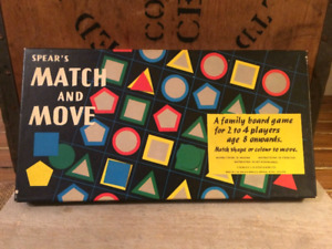 Vintage Match and Move Board