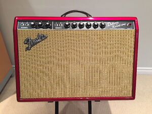 Fender FSR Deluxe Reverb Limited Edition Tube Amp - Pink Paisley