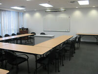 Training/Meeting Room, south side, seats 25-30