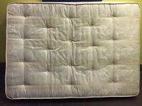 White double Spring mattress very very heavy £50