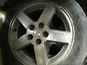 3 aluminium rims from 2009 Cobalt