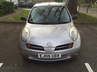 2005 NISSAN MICRA S 1.2 MANUAL,DRIVES EXCELLENT CONDITION GREAT,1 YEAR MOT,2 KEYS,FULL HISTORY