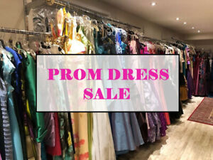 HUGE Prom Dress Sale